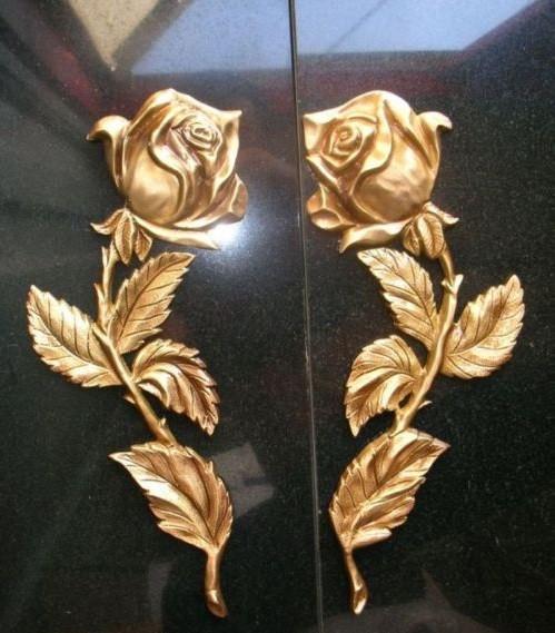 бронзовые розы