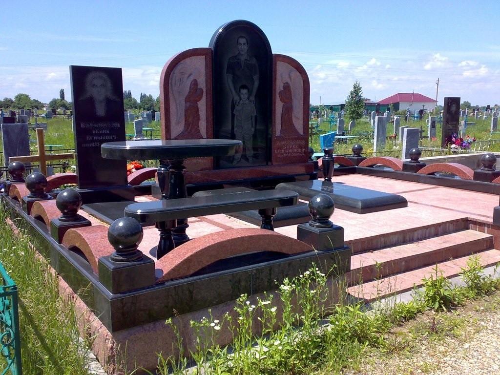 Изготовление памятников для двоих, памятники на могилу